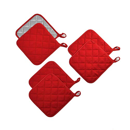 Potholders Set Trivets Kitchen Pot Holders Heat Resistant Pure Cotton Coasters Hot Pads Pot Holders...