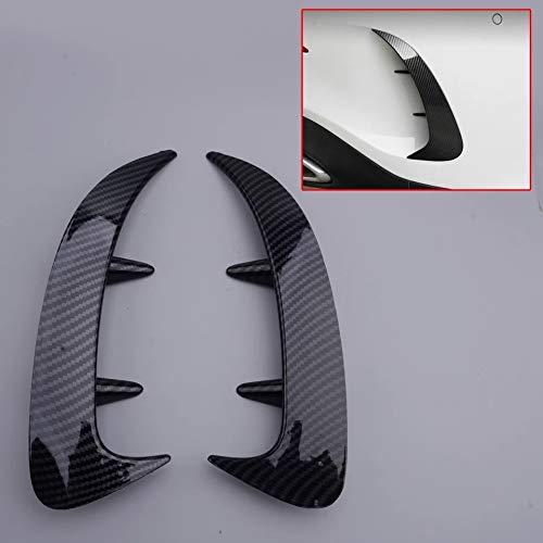 FFZ Parts Carbon Optik Stoßstange Hinten Rahmen Blende Abdeckung Passend Für A Klasse W177