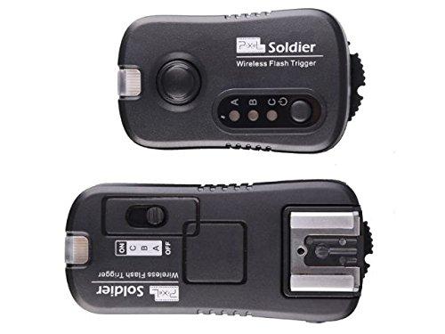Pixel TF-372 Soldier - Flash inalámbrico y Disparador de Estudio para cámaras Nikon