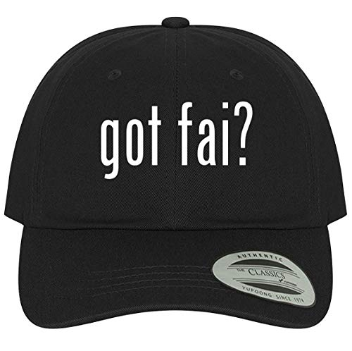 The Town Butler got FAI? - A Comfortable Adjustable Dad Baseball Hat, Black, One Size