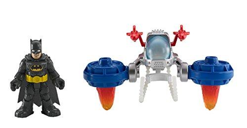 Fisher-Price – Imaginext – DC Super Friends – Batman & Space Pack – Véhicule + Figurine
