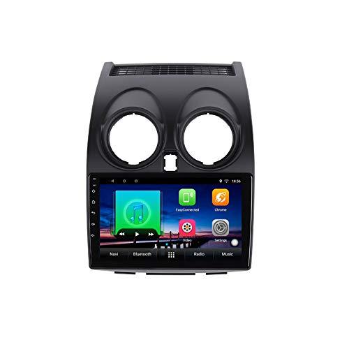 9 pulgadas Android 10.0 coche DVD reproductor multimedia GPS para Nissan Qashqai 2008 2009 2010 2011 2012 audio radio estéreo navegación