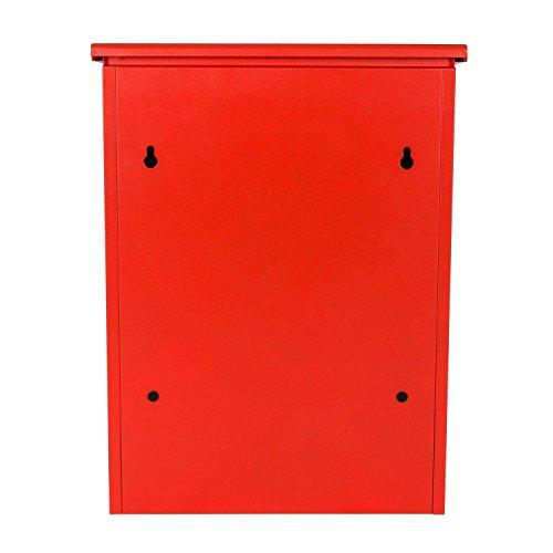 Paketbriefkasten Smart Parcel Box, rot - 7