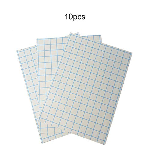 ukYukiko Transferpapier, A4, digital, thermisch, für Tintenstrahldrucker, Bügeleisen aus Baumwolle, 10 Blatt