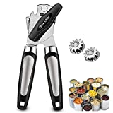 Can Opener Manual, Stainless Steel Can Openers with Smooth Edge Jane Choi Manual Can Opener for...