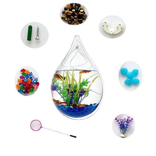 Hofumix Water Drop Wall Mounted Aquarium