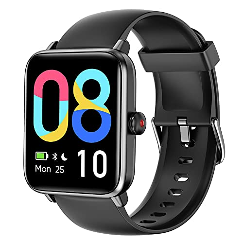 LETSCOM Smart Watch for Android Phones Compatible with iPhone, 1.55 Inch Touch...