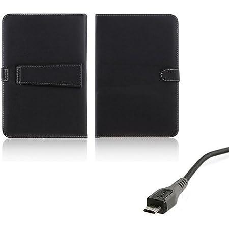 AFUNTA Caso del Cuero de la PC de la Tableta de 10,1 Pulgadas Universal con el Teclado/Soporte para 10