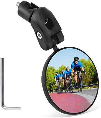 Mempedont bike mirror bicycle riding rearview mirror HD safety rearview mirror convex mirror product image