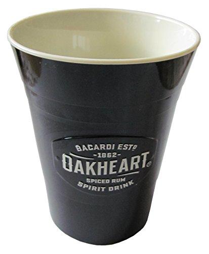Bacardi Oakheart Becher (Kunststoff)