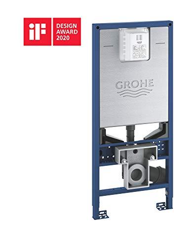 GROHE Rapid SLX | Element für WC, 1, 13 M Bauhöhe inkl. Stromanschluss und Wasseranschluss für Dusch-WC | 39596000