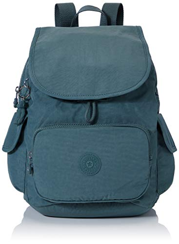 Kipling City Pack S - Zaini Donna, Verde (Light Aloe), 27x33.5x19 cm