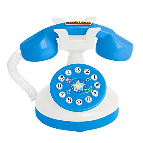 Mini Kids Toys - XIECCX Mini Simulation Model Toys Of Home Appliances Kids Play Toys(Telephone)