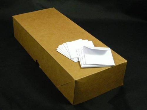 24 lb White 2″ x 2″ Coin Envelope, Super Value Pack (Box of 1,000)
