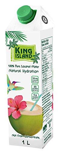 1 Liter Kokosnusswasser 100% Kokoswasser 100% Natur Kokossaft coconut water vegan Thailand
