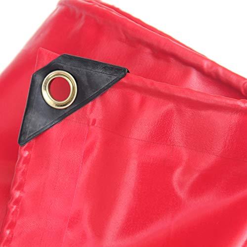 HCYTPL waterdicht tarp shelter waterdicht zeil heavy duty PVC twee kanten van waterdicht weefsel met UV-bestendige straal, lak en scheuren 450 g / m2