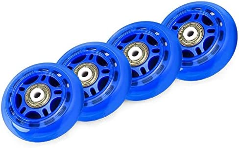 Andifany 4 Pack Inline Skate 1 year warranty NEW before selling Outdoor Wheels Roller Blades Indoor