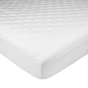 American Baby Company Ultra Soft Waterproof Fitted Quilted Mattress Pad Cover, Portable/Mini-Crib
