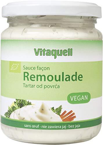 Salsa (Tartar) REMOULADE BIO 250 ml - VITAQUELL