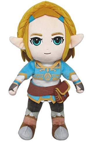 Sanei Boeki Princess Zelda (S) The Legend of Zelda Breath of The Wild Plush Toy Peluche 29cm