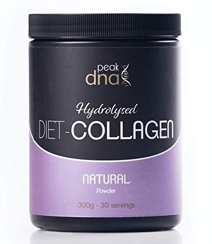 Diet Multi Collagen Protein Powder with MCT Oil | 300g 30-60 Servings | Keto, Fasting, Paleo & Primal Diet | Natural Fat Burner for Coffee/Tea/Smoothies with Marine Peptides and Coconut Oil