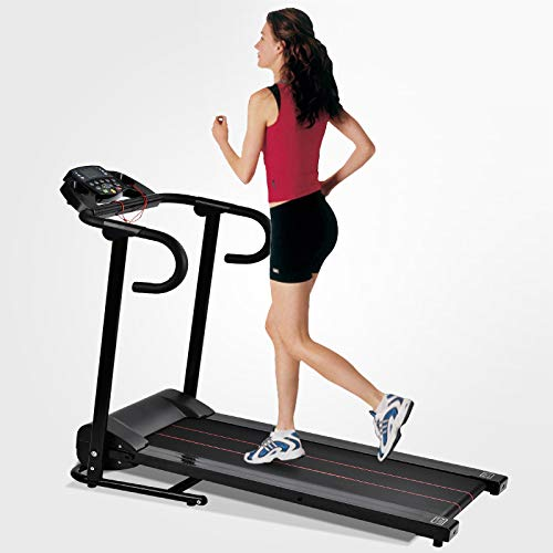 Murtisol 1100W Folding Treadmill Good for Home/Apartment Fitness Compact Electric Running Exercise Machine