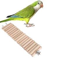 ペットのおもちゃ グレート3 PCSオウム鳥ハムスターの色ラウンドウッド小プランク道路ラダー玩具、サイズ:50センチメートル(原色) (色 : Primary Color)
