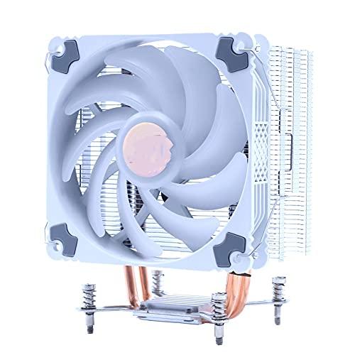 YWSZJ 120mm UPC Ventilador más frío PWM 4PIN ARGB RGB AM2 AM3 AM4 Tranquilo UPC Soporte del refrigerador del radiador (Blade Quantity: : LGA 115X 1366, Color : RGB)