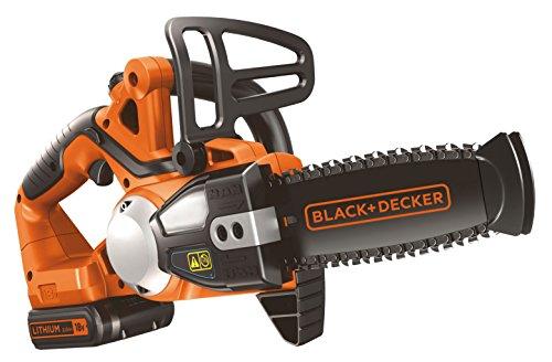 Black & Decker 8014211024849 Elettrosega B+D 18V Litio Gkc1820L20 Cm.20, Multicolore