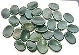 cincuenta piedras de preocupación de piedra de sangre Reiki Psychic Energy Feng Shui piedras de pulgar de cristal curación metafísica meditación Espiritual Sabiduría Gemstone regalo