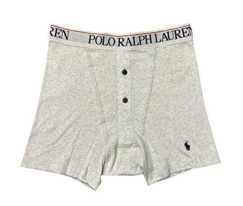 Polo Ralph Lauren Herren-Boxershorts, gerippt, mit Knopfleiste - mehrfarbig - Large