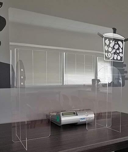 Protezione in plexiglass anche di più ampie grandezze