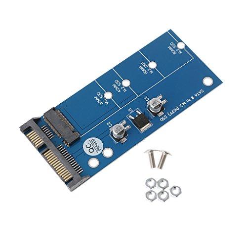 luosh M2 NGFF SSD SATA3 SSDs zu SATA Erweiterungskartenadapter SATA zu NGFF Konverter