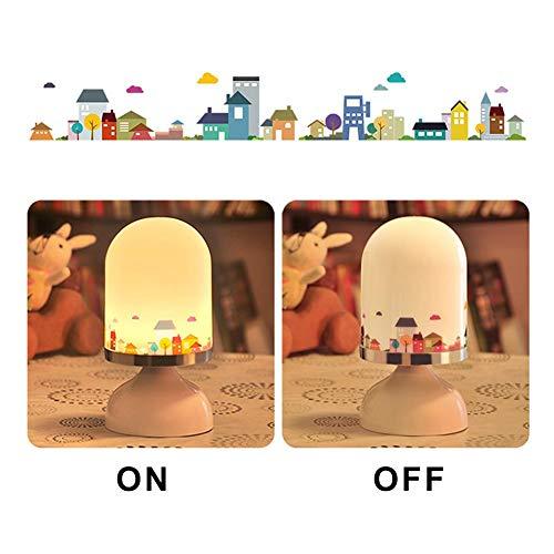 Led-nachtlampje met 3 schakelaarmodi - LED-lamp energiebesparend - nachtlamp als verlichting voor slaapkamer badkamer gang kelder garage A