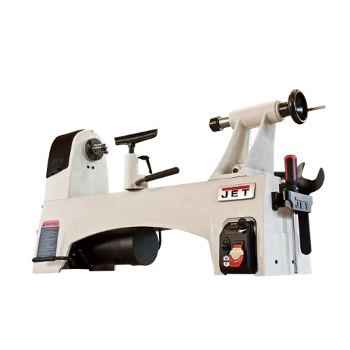 JET JWL-1221VS 12-Inch by 21-Inch Variable Speed Wood Lathe for 594.15