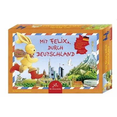 20877 - Die Spiegelburg - Felix: Gesellschaftsspiel - Mit Felix durch Deutschland