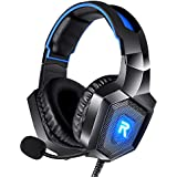 RUNMUS Gaming Headset for PS4, Xbox One, PC...