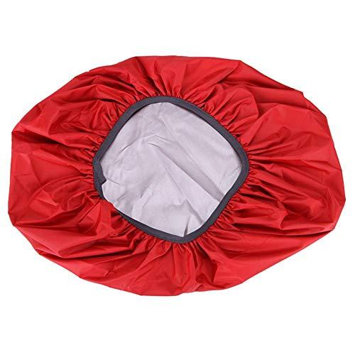 SQSHWL 35-70l Mochila con Cubierta de Lluvia Anti-rasgón A Prueba de Polvo Anti-UV Impermeable para Acampar Senderismo Escalada Bolsa táctica al Aire Libre 50-70L Rojo
