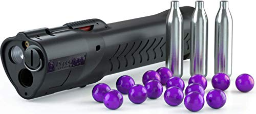 PepperBall LifeLite Self- Defense Starting Kit State Compliant (Bright LED Flashlight with a Launcher), Includes Inert Projectiles
