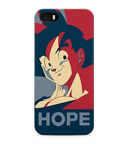 Dragon Ball Z Goku Hope Hard Plastic Snap On Back Case Cover For iPhone 5 / 5s Custodia