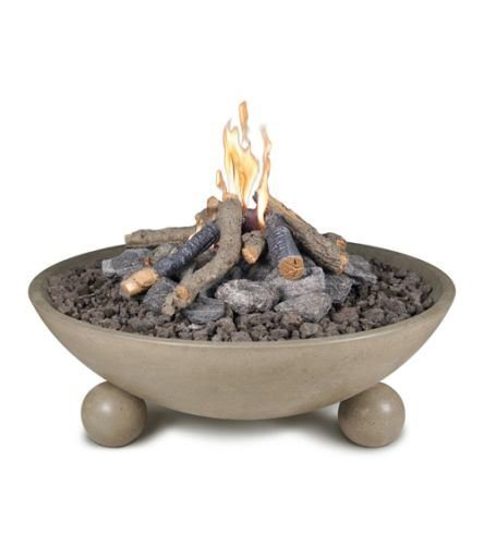 Great Deal! American Fyre Designs 40 Versailles Fire Bowl in Sedona Finish with AWEIS System - NG
