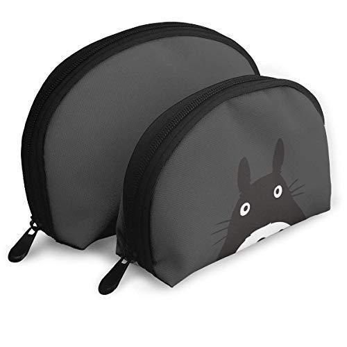 Almost-Okay-Shop Leichte Totoro Aufbewahrungstasche Professionelle Kosmetiktaschen Reisetasche Beauty Kulturbeutel Organizer Case für Frauen
