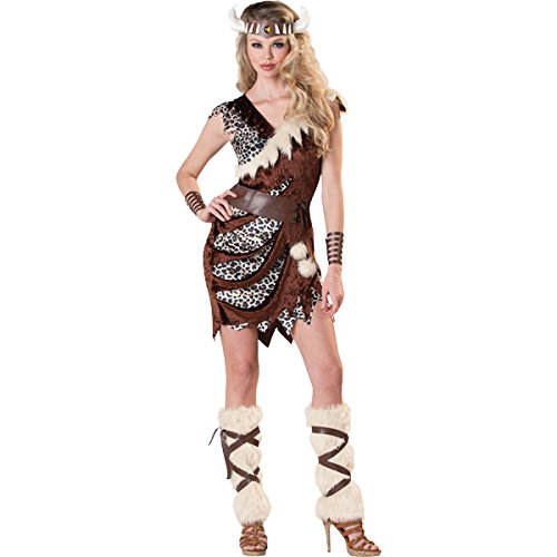 Adults Viking Barbarian Mens Ladies Costume Medieval Warrior Fancy Dress Outfit