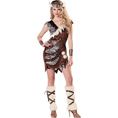 Amscan International Adultes Barbare Babe Costume (UK 10–12)