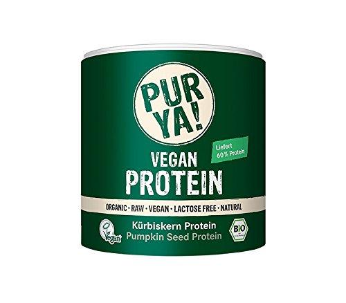 Purya Bio Vegan Protein - Kürbiskern, 1er Pack (1 x 250 g)
