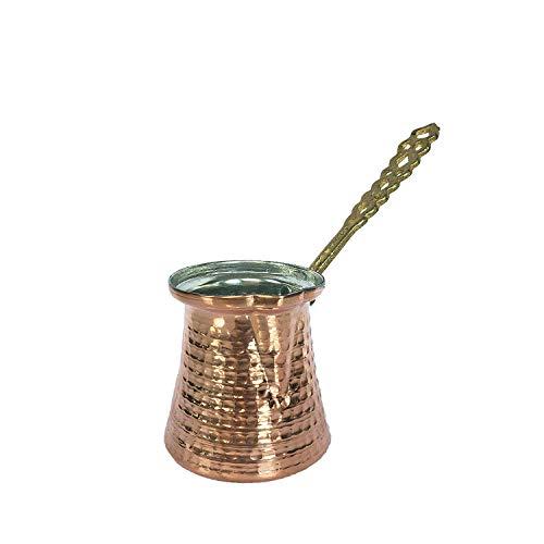 Türkische Kupfer-Kaffeekanne 130 ml - 1 Cup kupfer