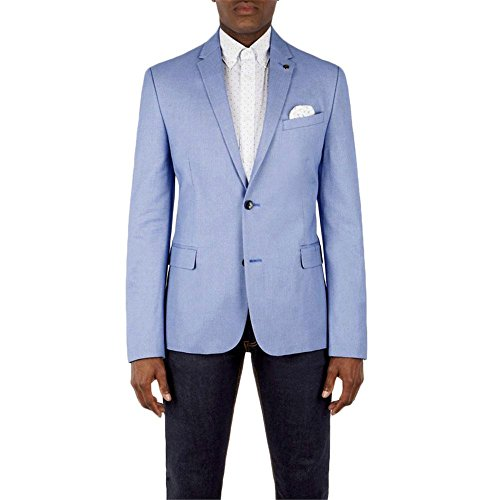 Ben Sherman - Veste Birdseye Blazer - M, Bleu
