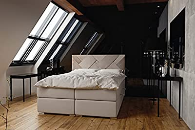 Elegante y práctico. Espacio extra en tu dormitorio. Tapizado con materiales de alta calidad.