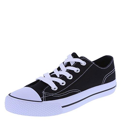Airwalk Legacee Damen-Sneaker, Schwarz (schwarz / weiß), 35.5 EU