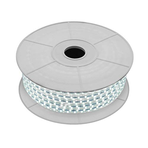 LEDKIA LIGHTING Bobina de Tira LED Regulable 220V AC 60 LED/m 50m Blanco Frío IP65